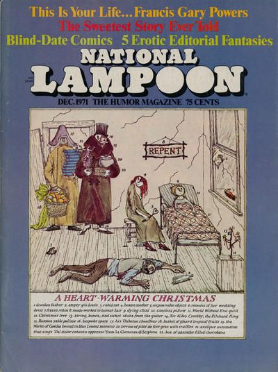 Cover for National Lampoon Magazine (National Lampoon, Inc., 1970 series) #v1#21