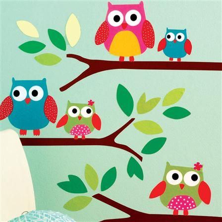 32 best millies owl room images on Pinterest Live, Applique and