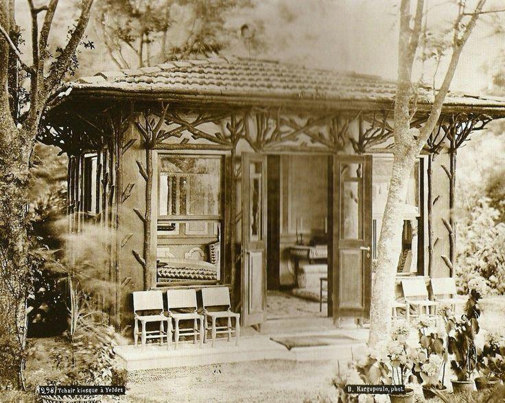 Yıldız Sarayı Şalelerinden Günümüze Ulaşmayanlardan Basile Kargopoulo Fotoğrafı