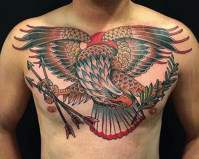 Traditional American Eagle Tattoo  Wwwimgkidcom The