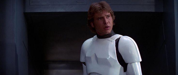 Han Solo Stormtrooper uniform Star Wars (1977)