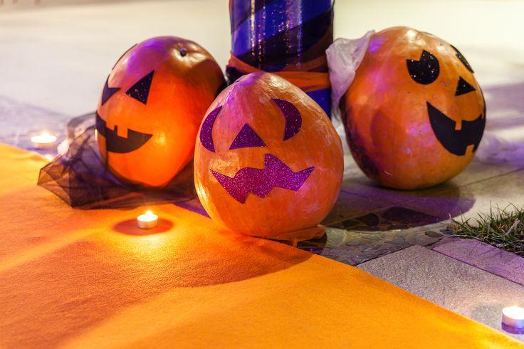 Le #zucche non potevano mancare alla festa di #halloween più divertente di tutta la Riviera!