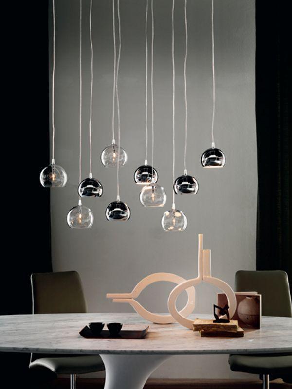 Steel pendant #lamp ECLIPSE by Cattelan Italia | #design Philip Jackson