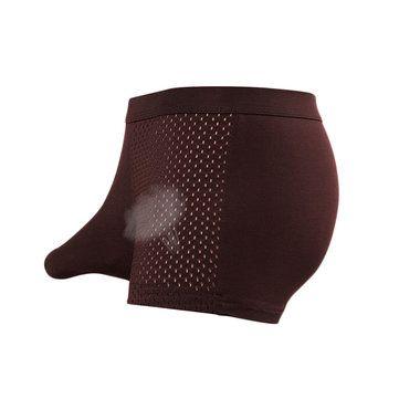 Mesh U Convex Pouch Boxers Underwear