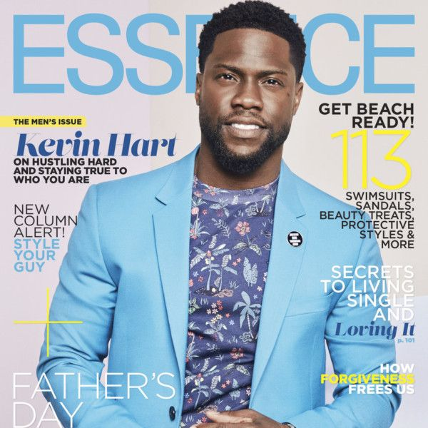 Kevin Hart Covers Essence Magazine's June 2017 Men Issue