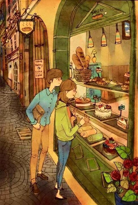 """Bộ tranh """"cuộc sống vợ chồng"""" khiến ai cũng ao ước"""