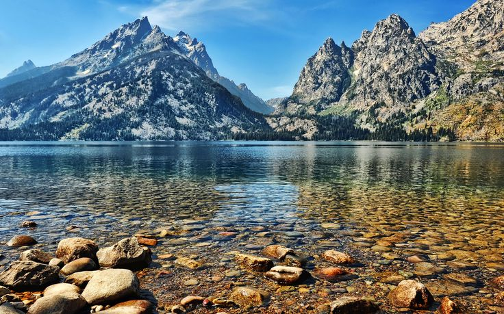 Jenny Lake, Grand Teton National Park, WY - America's Most Beautiful Landmarks | Travel + Leisure
