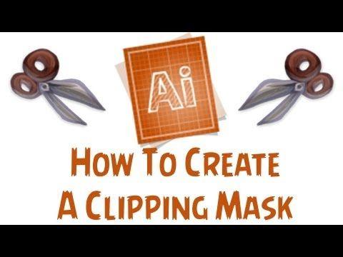 Clipping Mask In Adobe Illustrator | Technology | Pinterest | Adobe ...