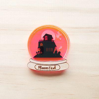 #Halloween #Brooch #hauntedhouse