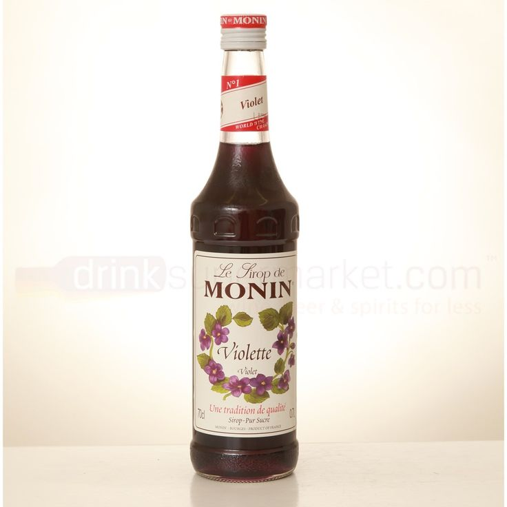 Lovers of Parma Violet sweets, will truly enjoy Monin Violet Syrup. A gorgeous purple syrup, with the sweet, floral taste of springtime, this is a wonderful addition to floral and fruity cocktails and creations.