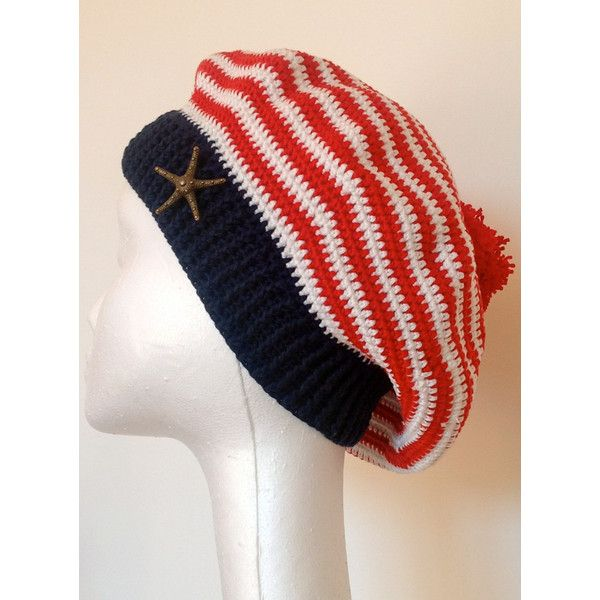 French striped beret deauville 70 39 s elegant crochet for French striped shirt and beret