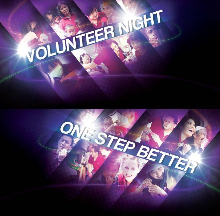 volunteer night one step better (YSKB)