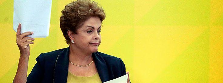 O que você fazia quando...: Dilma resolveu se esconder da população, após a mo...