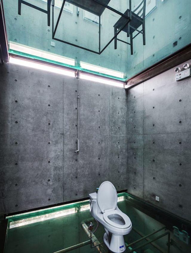 Vertical Glass House Features Transparent Floors & Ceilings - My Modern Metropolis
