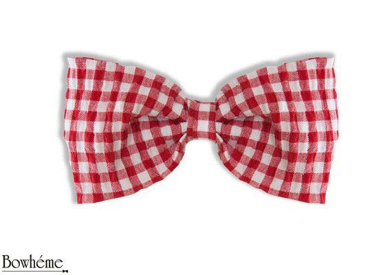 Ready Tied Bow Tie Red checkeredVANNI. #bowtie #bow #tie #fashion #mens #womens by Bowheme on Etsy, $9.00