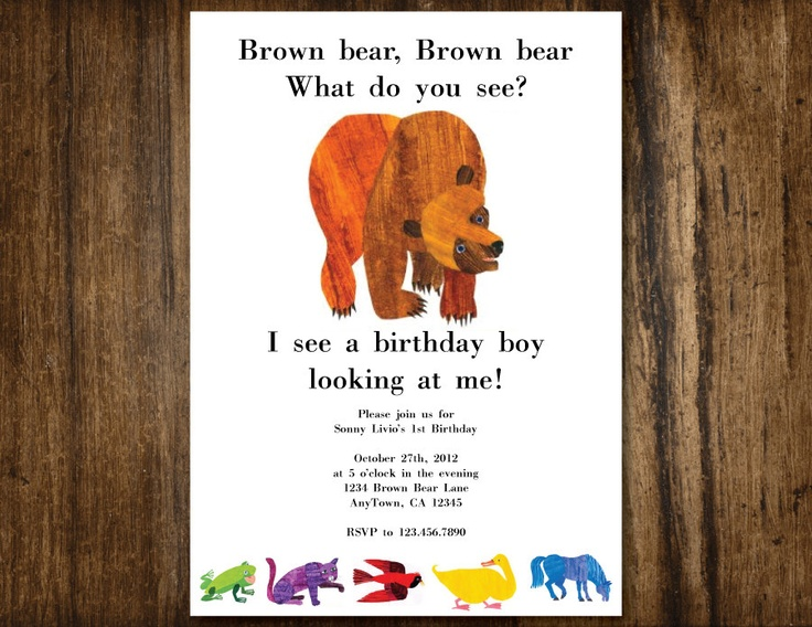 42 best Eric Carle Birthday images – Eric Carle Birthday Invitations