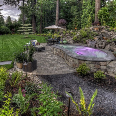 104 Best Images About Patios Fire Pits Hot Tubs On