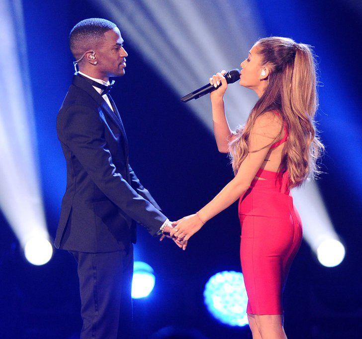 Pin for Later: Les Photos People de la Semaine à ne Pas Manquer  Ariana Grande est montée sur scène avec son petit ami Big Sean lors d'un concert à Los Angeles.