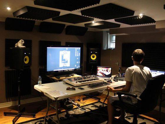 how to build a home film studio
