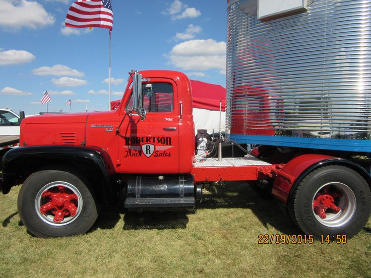 Antique International Harvester Semi Tractor : Images about international r red diamond on