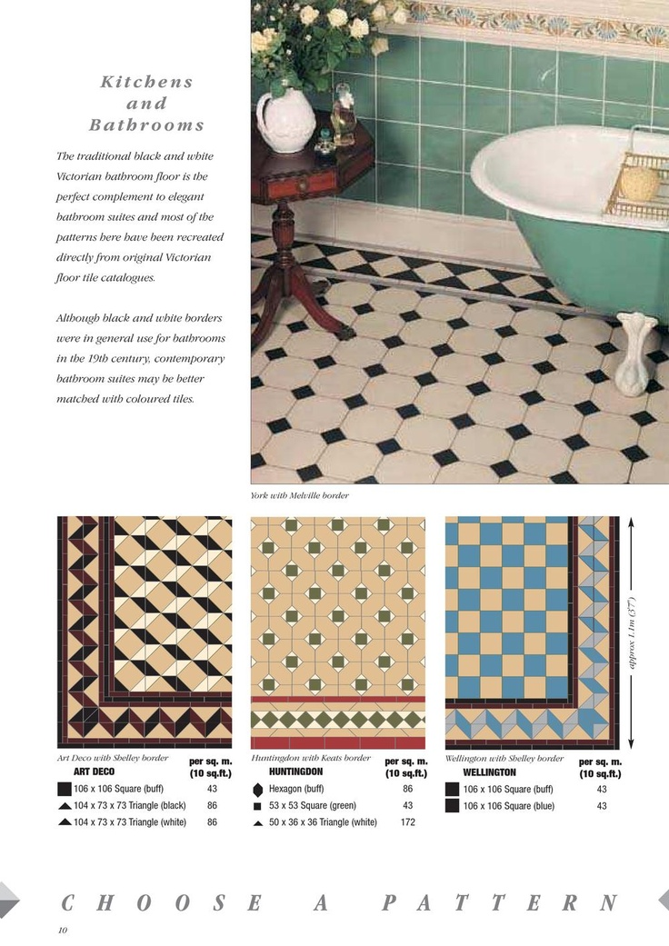 1000 Ideas About Victorian Tiles On Pinterest Tiling