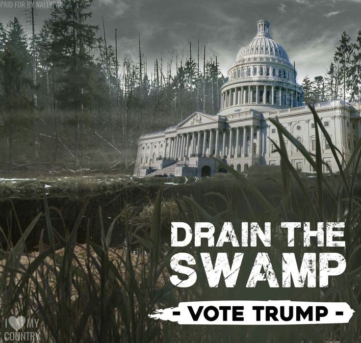 "Maybe THAT should have been the campaign slogan:  ""Drain the Swamp and Make America Great Again."" ;o)"