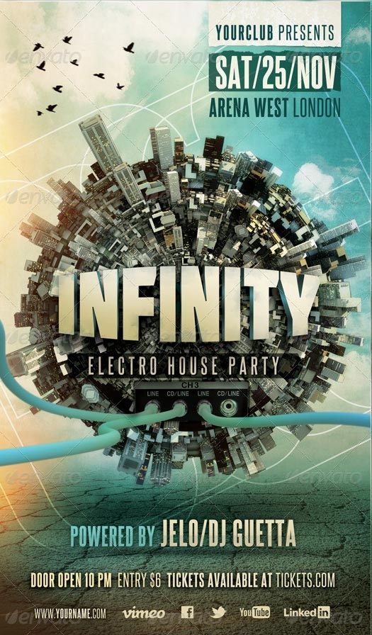 Classic project electro house