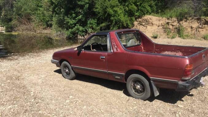 1987 Subaru Brat Awd For Sale In Templeton California In 2020 Awd Subaru Brat
