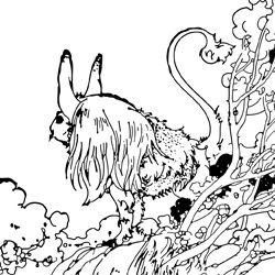 Free Coloring Page At Vintage By Charles Robinson From The Novel Once On A Time Written Milne Creator Of Winnie Pooh