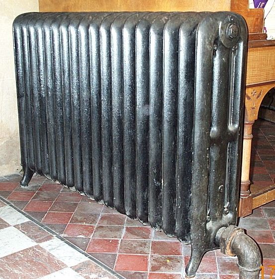 unusual_heaters Peerless Three Column sectional radiator made by the American Radiator Company found in a church : sectional radiators - Sectionals, Sofas & Couches