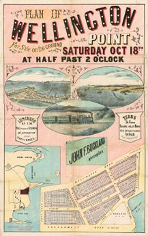 Poster Estate Map - Wellington Point | State Library of Queensland Shop