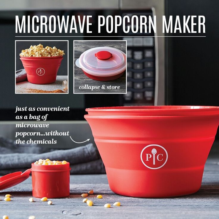 Microwave Popcorn Maker - Please shop with me: pamperedchef.biz/wendyrichter