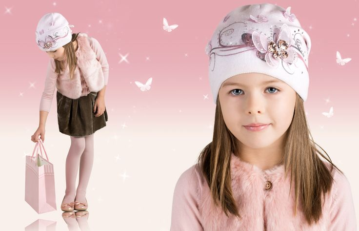 Kids keep warm in sparkling style–#Barbaras hats use beautiful yarns embellished with #Swarovski crystals. Check out the Balloon Collection.