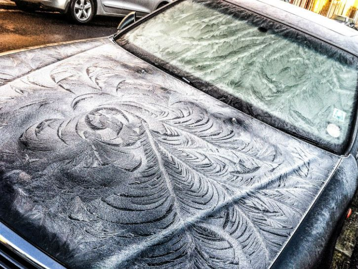 Best Winters Frost Images On Pinterest Work Of Art Frost - 17 cars turned into art thanks to frosty winter weather