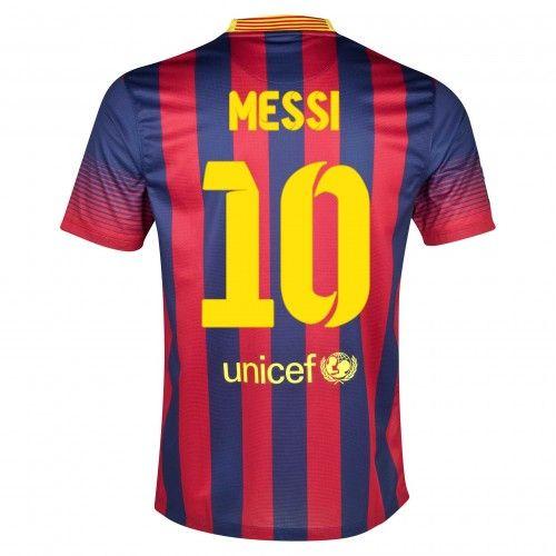 Maglia Barcellona 2013-2014 Local 10 Messi