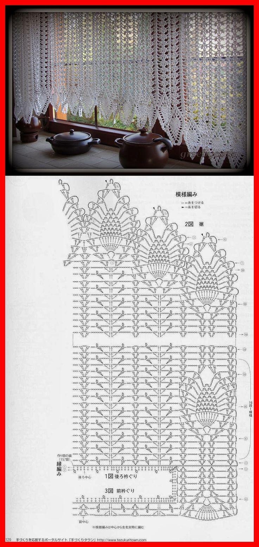 Filet Crochet Valance More