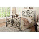Found it at Wayfair - Metal Headboard and Footboard