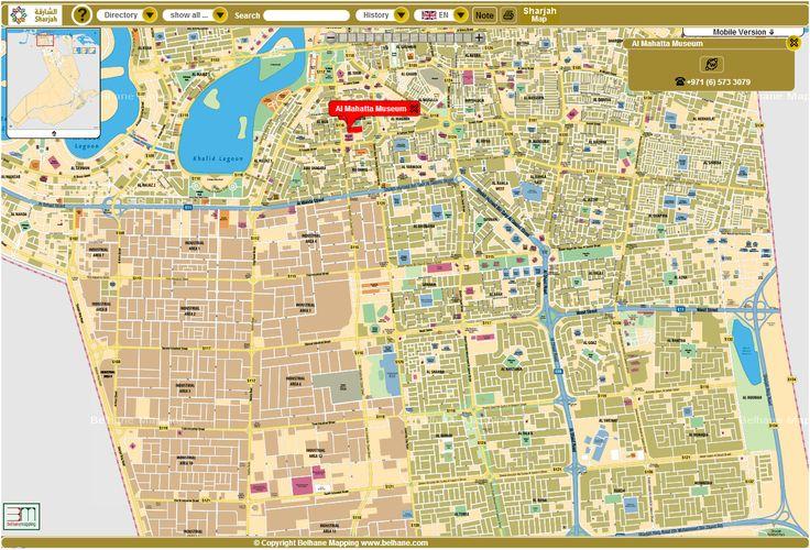 sharjah tourism development authority creates interactive map for tourists custom google maptourism developmentsharjahinteractive mapuae