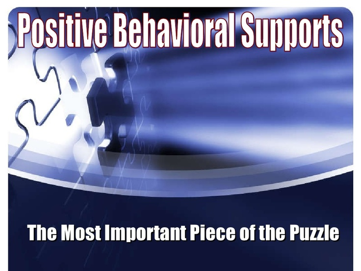 positive-behavioral-supports by jwmgotee via Slideshare