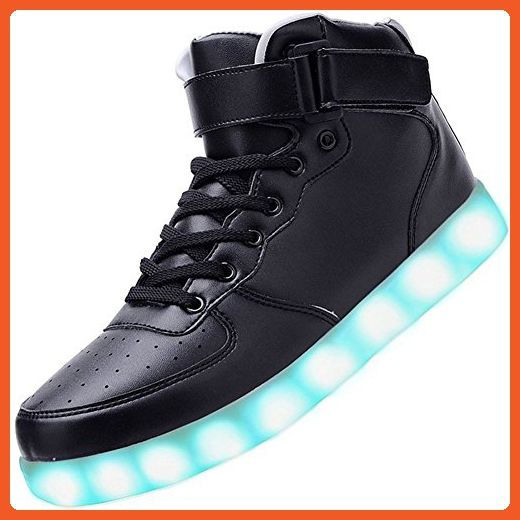 Joansam Women High Top USB Charging LED Shoes Flashing Sneakers JSSB01-37 - Sneakers for women (*Amazon Partner-Link)