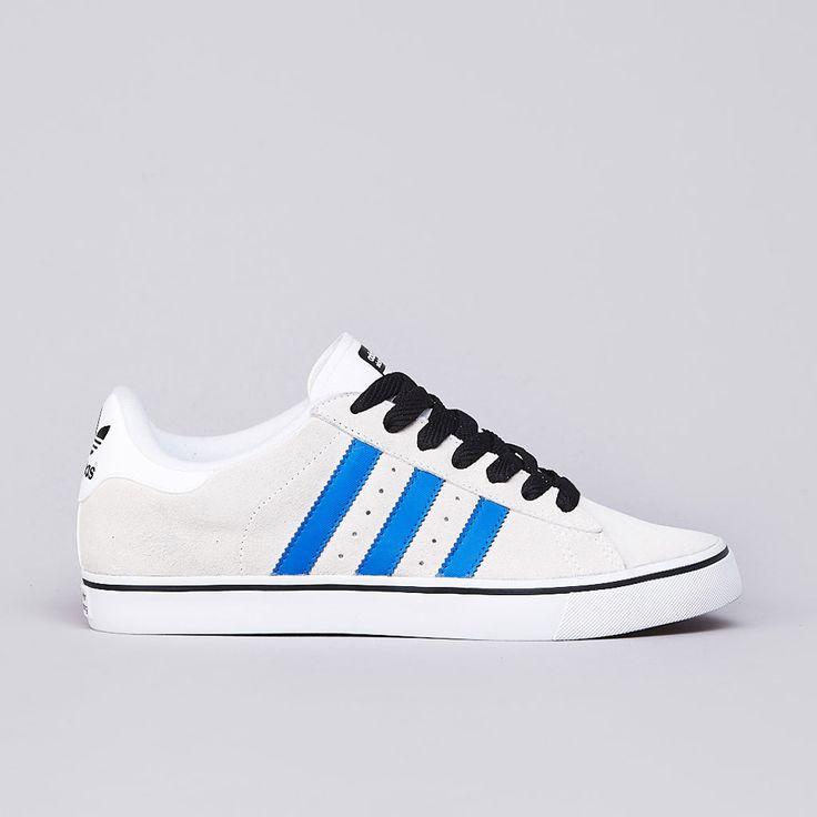 Adidas Campus Vulc Running White / Bluebird / Black1
