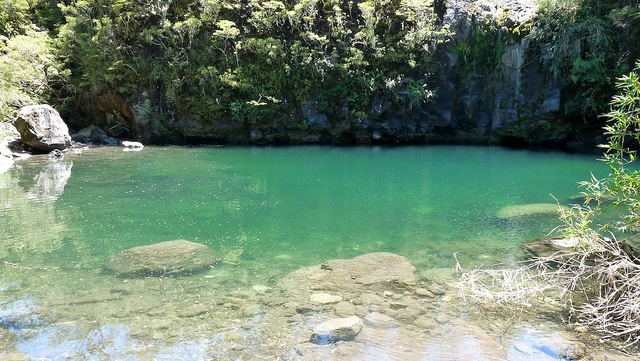 Laguna @ The Saltos of Petrohue - 15 miles from Bordemundo Bed and Breakfast #saltosdepetrohue #petrohue #bedandbreakfast #bordemundo #puertovaras #caminoensenada #patagonia #chile