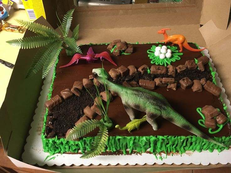 Perfect For A Dino Birthday Party Bought A Half Sheet
