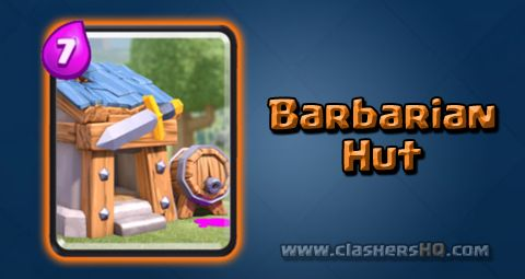 Find all about the Clash Royale Barbarian Hut Card. How to get Barbarian Hut & attack/counter Barbarian Hut effectively.