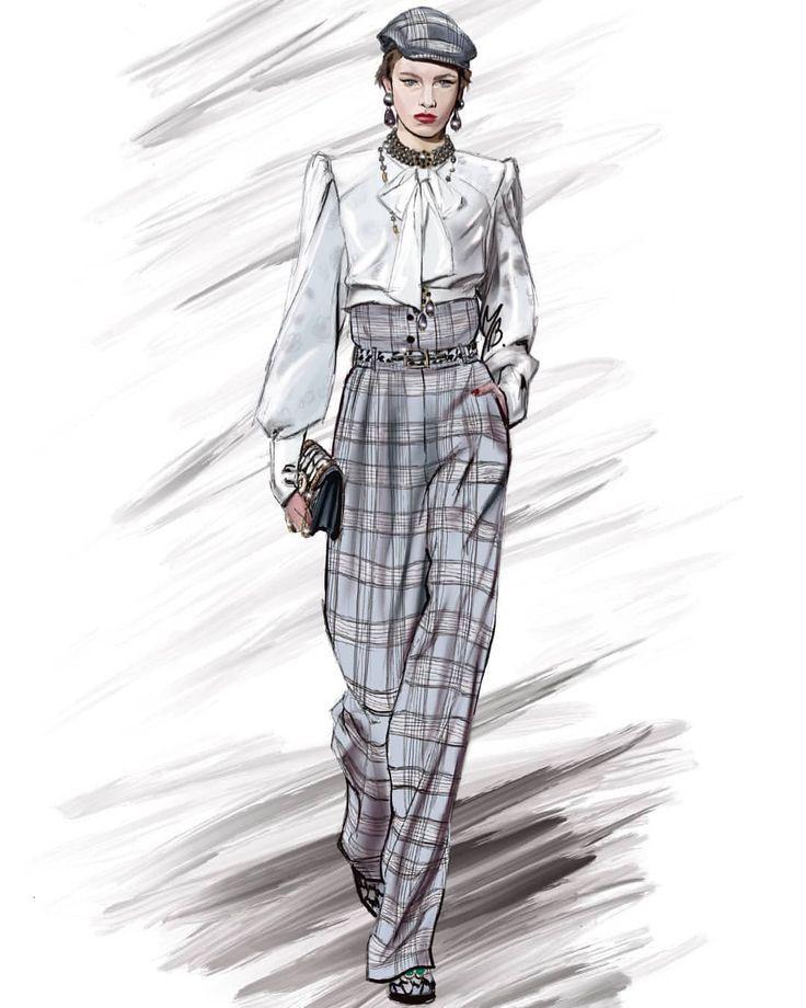 Instagram 上 的 maryb.fashion : 「Mille wear Dolce & Gabbana Herbst / Winte…