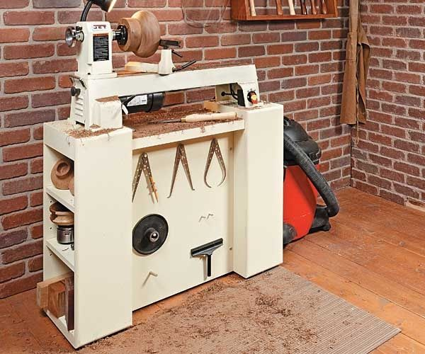 Midi Lathe Tool Stand Plans Woodworking Workshop Reorg