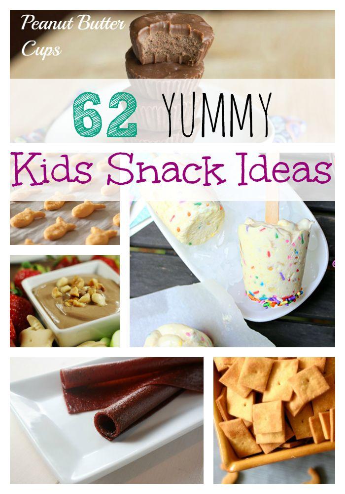62 Yummy Kids Snack Ideas