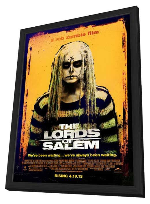 The Lords of Salem 27x40 Framed Movie Poster (2013)