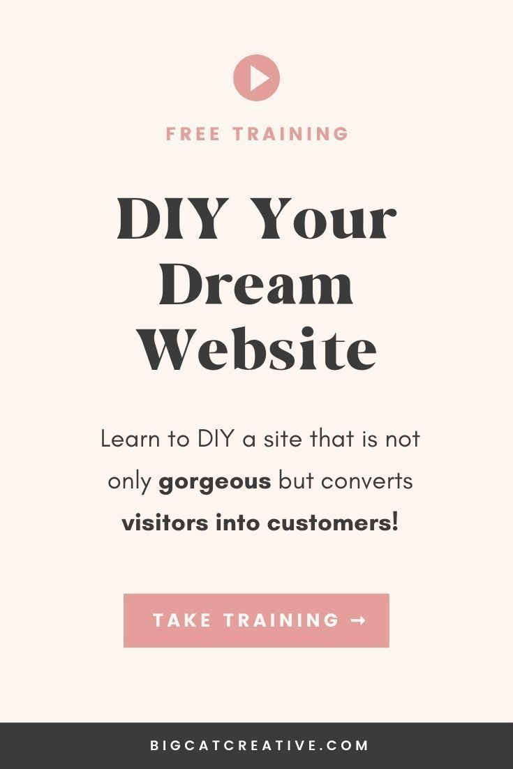 Free Training Diy Your Dream Website Are You Ready To Learn How To Diy A Website That Is Not Only Gorgeous In 2020 Diy Web Design Website Training Diy Website Free