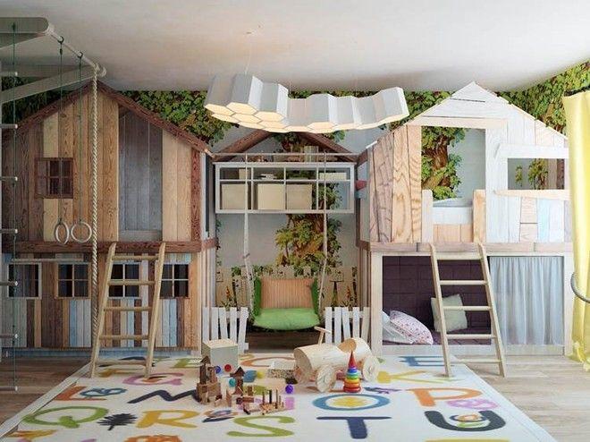 Детская. Квартира в индустриальном стиле, ЖК «Омега Хаус», 140 кв.м.
